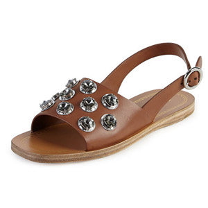 Roman sandals flat with big yards