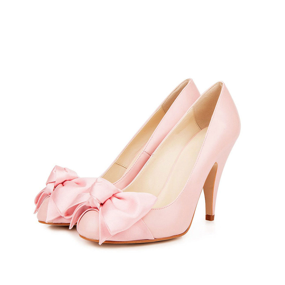 Butterfly design sweet style lady high heels pump shoes YB2046