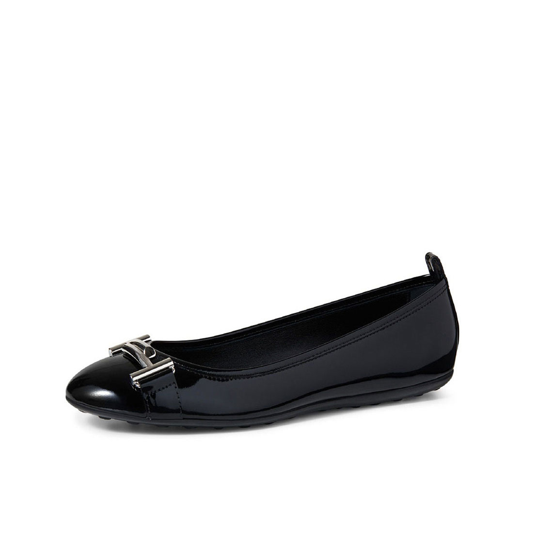 Popular patent leather flat heel women casual shoes YB2043