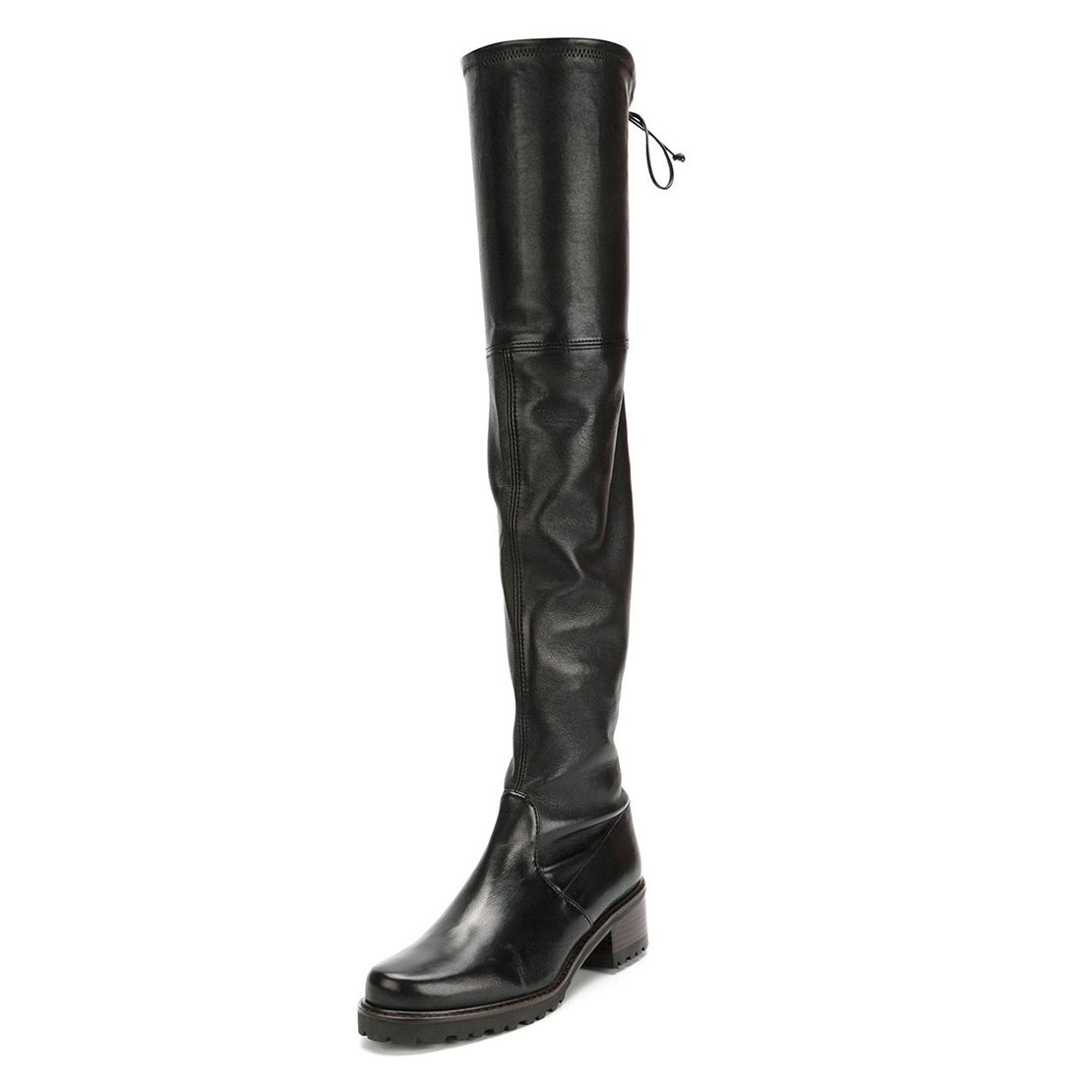 Latest popular leather over knee women boots YB3002