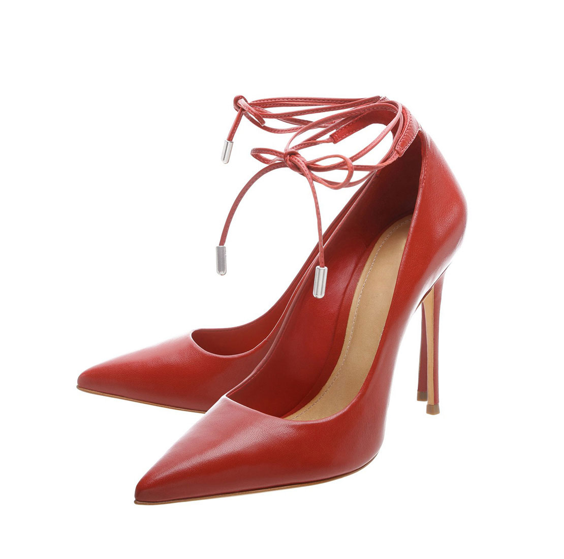 Wholesale china factory red high heel bow strap ladies dressy party shoes YB4020